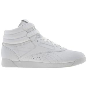 NWT Women Reebok White Freestyle High Top Sneakers